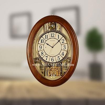 ساعتهای دیواری مدرن چوبی