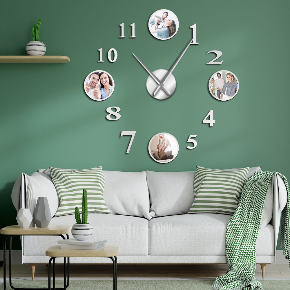 The effect of wall clocks on home decoration