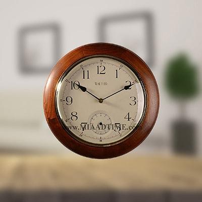 ساعتهای چوبی با قطر 30 الی 40 سانت