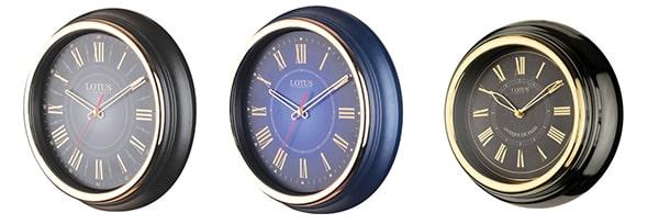 ساعت دیواری فلزی طرح انگلیسی