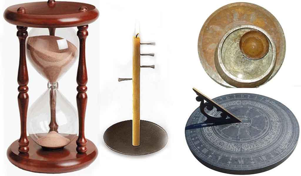 water-clock-sand-clock-sun-clock