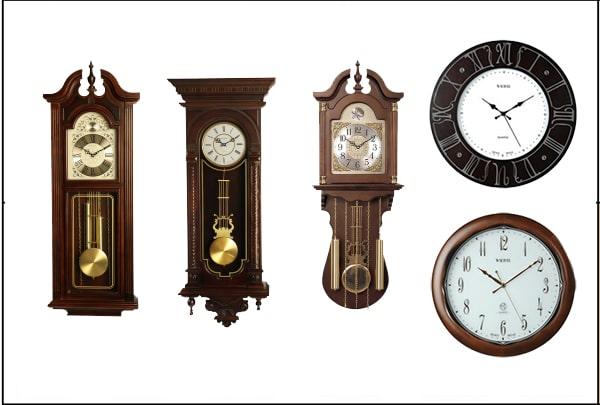 ساعت دیواری چوبی والتر